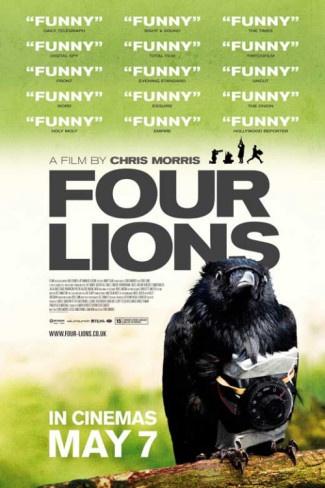 Four Lions, starring Riz Ahmed, Kayvan Novak, Nigel Lindsay, Adeel Akhtar and Arsher Ali, with Julia Davis and Kevin Eldon. Directed by Chris Morris. ($19.99)