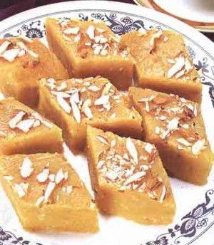 Baked Egg And Saffron Halwa recipe
