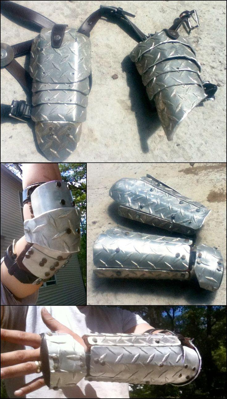post apocalyptic armor by Neg-319.deviantart.com on @deviantART