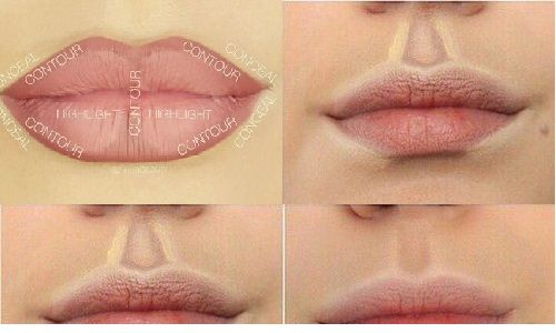 How to Contour Your Lips. Make up Trends 2016