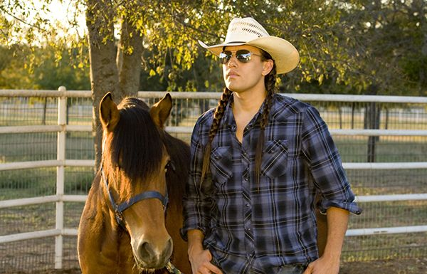 Calendar Guy: Cody Jones of '21st Century Skins'. Cody Jones, an actor and stuntman who is an enrolled Eastern Shoshone of the Wind River Indian Reservation.