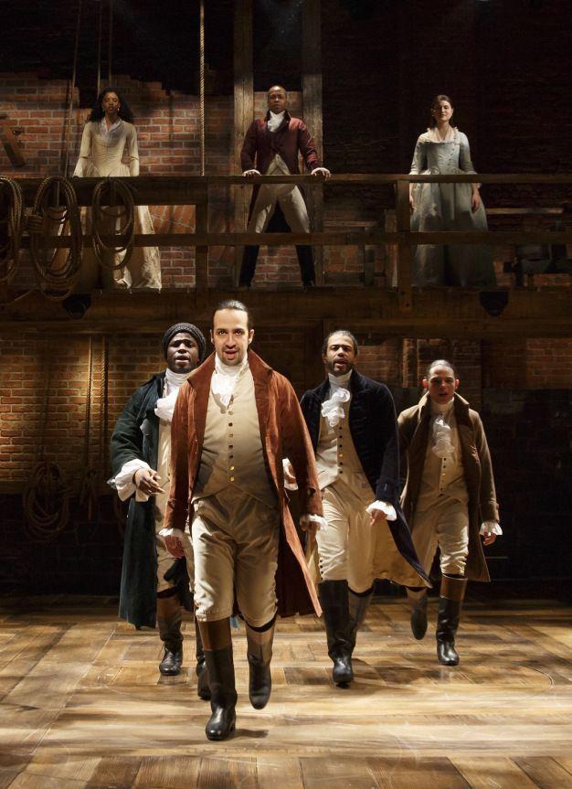 Hamilton http://newyorktheater.me/2015/02/17/hamilton-review-lin-manuel-mirandas-hip-hopped-history-musical/