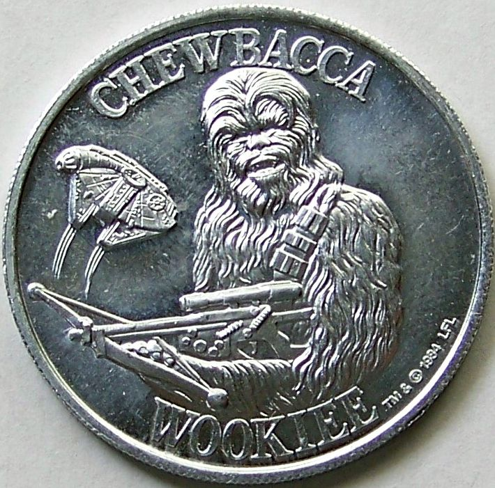 Potf Coin Chewbacca Coin Collecting Coins Money
