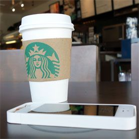 Starbucks to Offer Wireless Caffeine for Smartphones - Scientific American