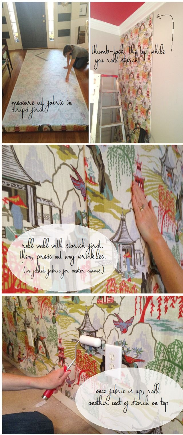A DIY Fabric Tutorial courtesy of @emilyaclark using Robert Allen fabric Neo Toile in coral! Shop Neo Toile here > http://www.robertallendesign.com/searches/search_fab_color.aspx?type=fabric&pattern=NEO+TOILE