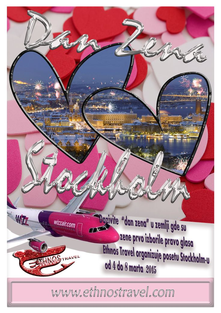 Lets travel to Stockholm to celebrate the womens day