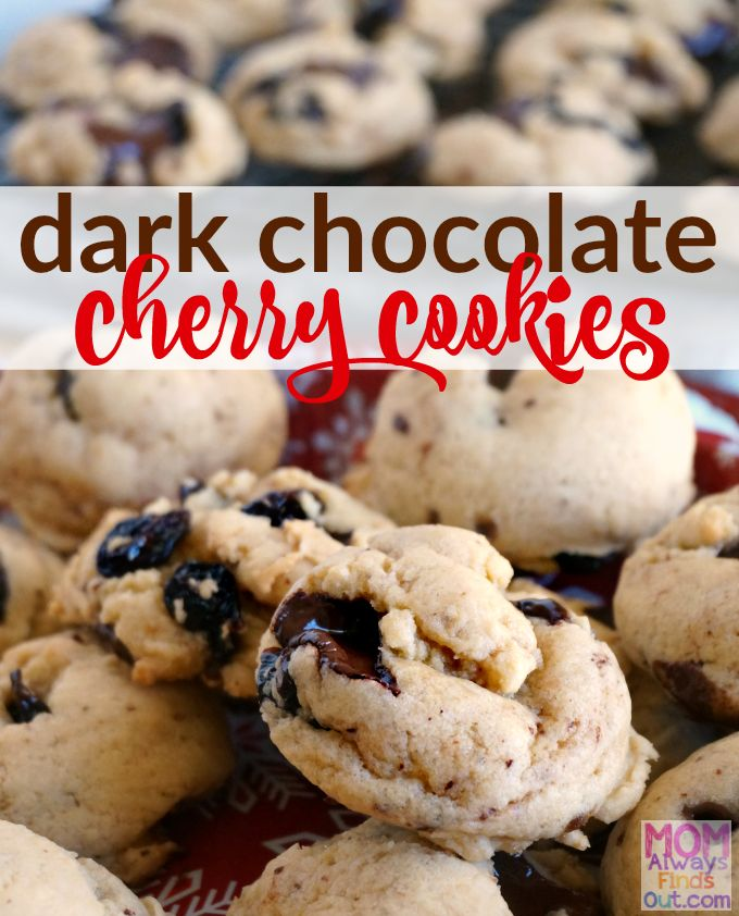 If you love chocolate-covered cherries, this dark chocolate cherry cookies recipe is for you! Start with an easy base cookie dough recipe and #MakeItYours. ad