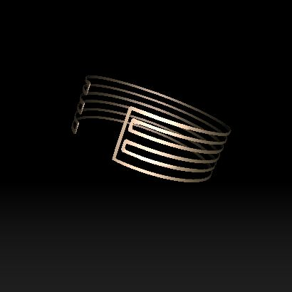 Who new straight line could make such an amazing bracelet?