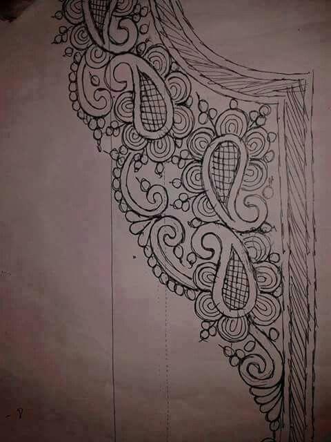 Neckline Pattern..