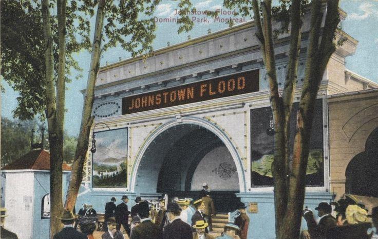 Johnstown Flood, Carte postale du Parc Dominion