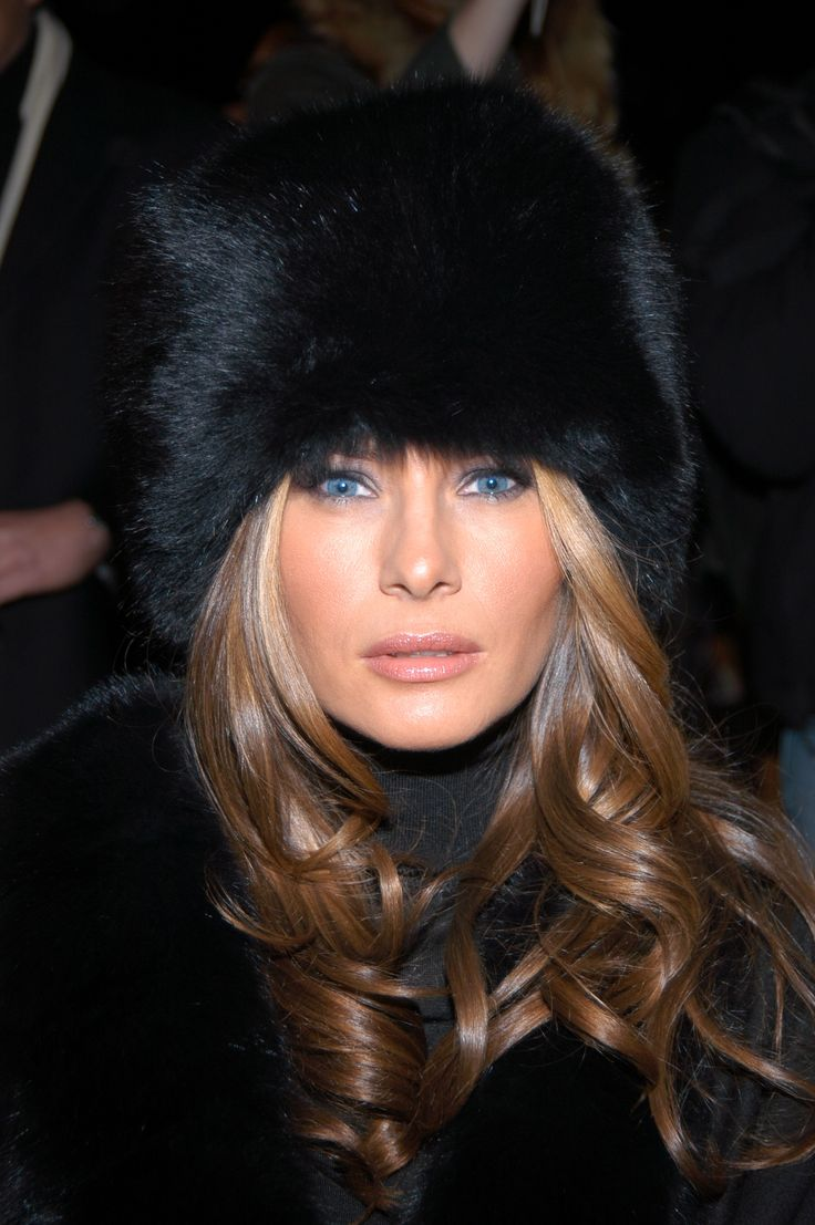 NEW YORK CITY, NY - FEBRUARY 7: Melania Trump attends Michael Kors Fall 2007 Collection at The Tent on February 7, 2007 in New York City. (Photo by Matt Carasella/Patrick McMullan via Getty Images) via @AOL_Lifestyle Read more: http://www.aol.com/article/lifestyle/2016/11/10/melania-trump-style-/21603454/?a_dgi=aolshare_pinterest#fullscreen
