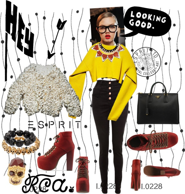 """Challenge Your Design Talent with Esprit & The Royal College of Art"" by snowmell on Polyvore"