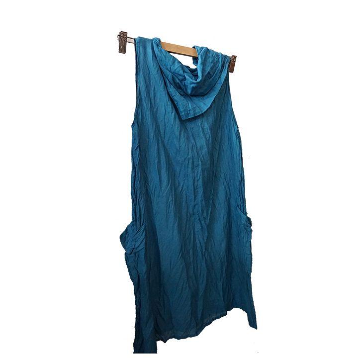 Φόρεμα κοντό μπλε
