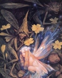 Real Fairies Found Alive   Found on kittythedreamer.hubpages.com