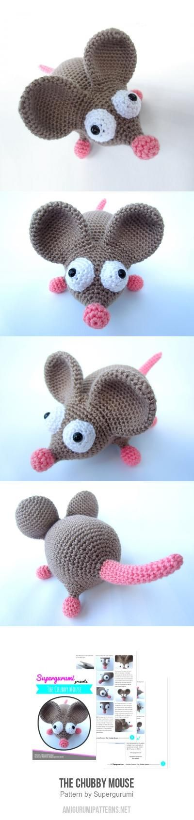 The Chubby Mouse amigurumi pattern