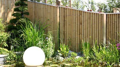 Bambuszaun - Sichtschutzwände für Terrassen und Balkon - Mein schöner Garten