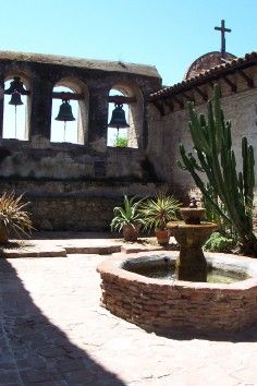 Mission San Juan Capistrano...lived in SJC -beautiful place and grids were welcoming and rather pleasing to live upon