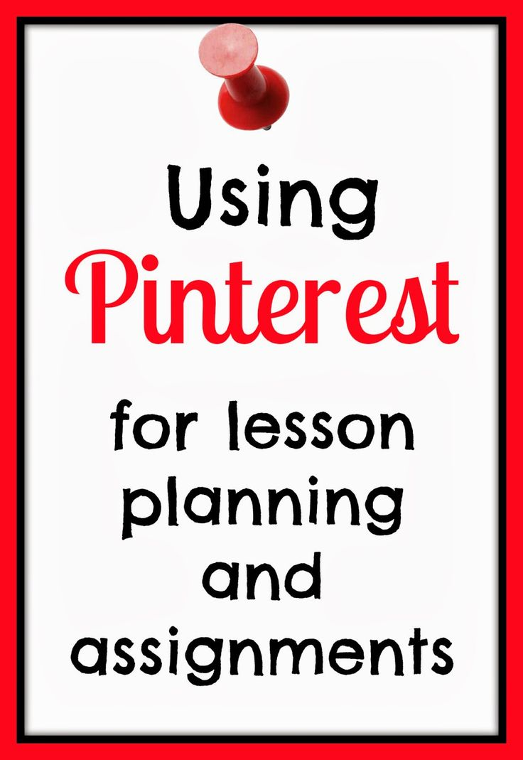 Lesson Planning and Assignments with Pinterest #homeschool #highschool
