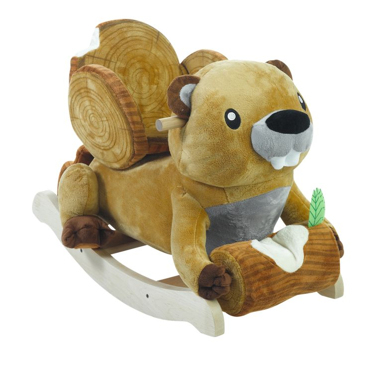 Buckee Beaver childrens plush toy rocker for babies and toddlers! Makes a great gift :) #giftideas