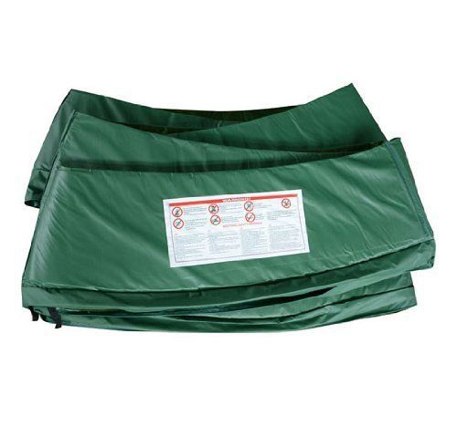 15' Trampoline Replacement Safety Pad / Spring Cover - Green - http://www.exercisejoy.com/15-trampoline-replacement-safety-pad-spring-cover-green/fitness/