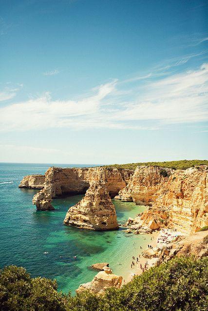 Marinha Beach ~ Algarve, Portugal
