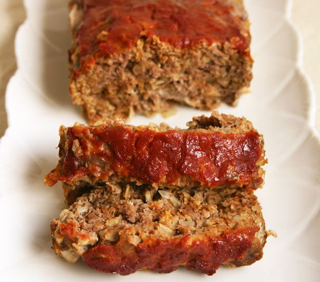 FMD Meatloaf Makeovers! Including this classic meatloaf for Phase 1 and a delicious Phase 2 version