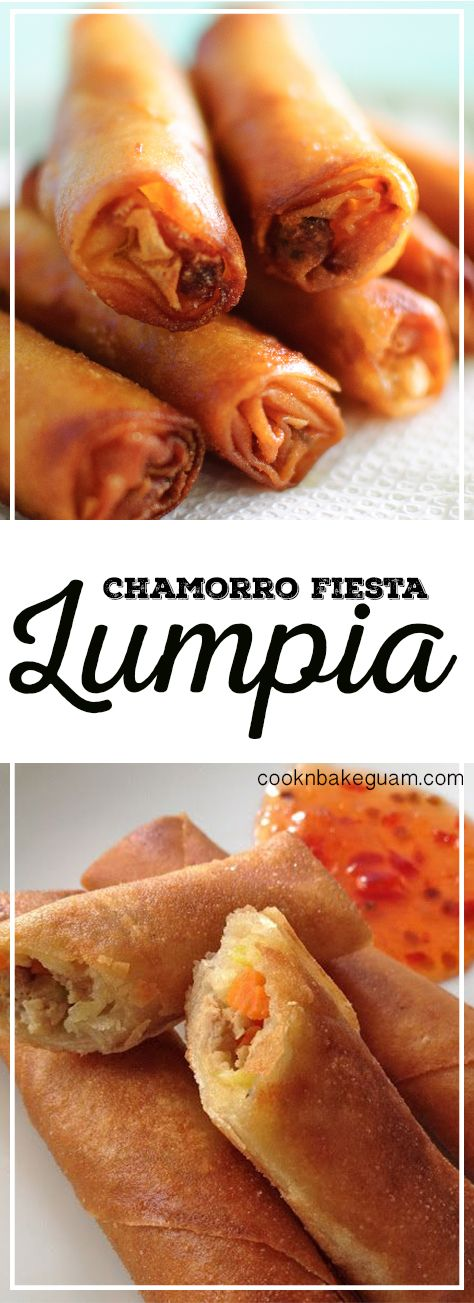 Here on Guam, there is no such thing as a fiesta without lumpia. These fried goodies are found on every fiesta plate right next to the red rice, fried chicken, kelaguenandfinadene. Remember how I mentioned finadene serves as a multipurpose sauce? Well It pairs well with the red rice, fried chicken, and lumpia. Amazing! Even if you are not at…
