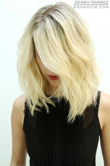 Love the cut {Hair Color by: johnny Ramirez}