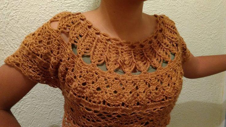 Tutorial de Blusa a Crochet Paso a Paso Facil y Rapido #2