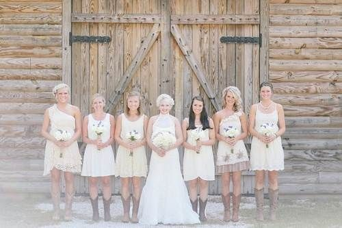 country wedding bridesmaids dresses | Country Chic Wedding Bridesmaid Dresses IdeasFashion Female