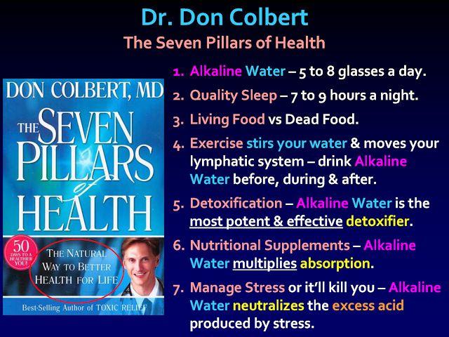 Dr Don Colbert The Seven Pillars Of Health 1 Alkaline