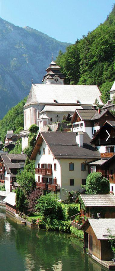 UNESCO World Heriitage Site.                               Hallstatt, AUSTIA     • photo: Todd on Flickr