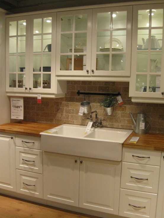 Kitchen sink and counter top...LOVE