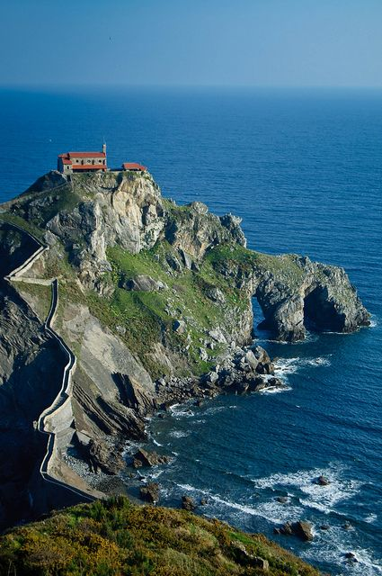 San Juan de Gaztelugatxe, Basque Country, Spain by pdobeson