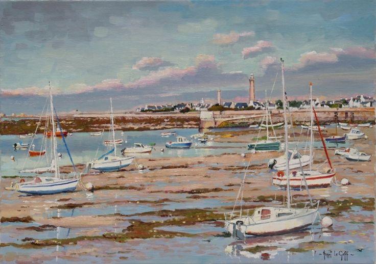 5 - Exposition de peinture Henri Le Goff - Peintre breton - tableaux marines et paysages de ...