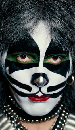 Peter Criss - American musician and actor, best known as the co-founder, original drummer of the hard rock band Kiss.