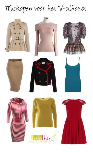 Laat deze kleding hangen, V-silhouet! Lees het blog voor de tips. #miskoop #BadBuys #Vbodyshape