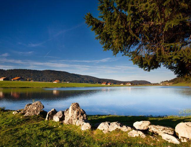 Lac des Taillères à La Brévine
