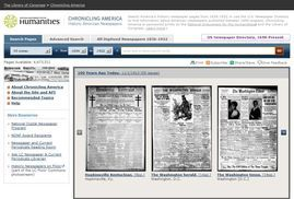 How to Successfully Use Chronicling America by Kenneth R Marks from The Ancestor Hunt. #genealogy #newspapers #library