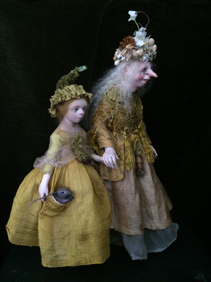 Art dolls by Anna Brahms
