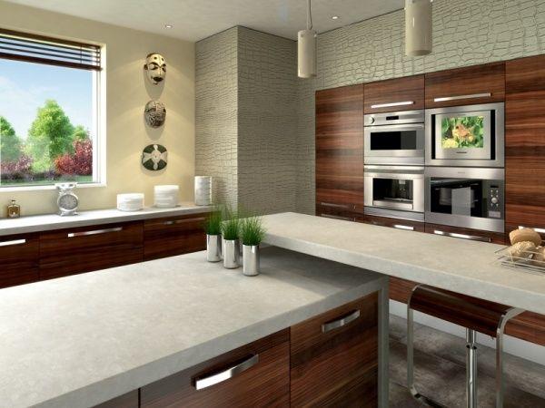 Die besten 25+ Granit küchenarbeitsplatten Ideen auf Pinterest - arbeitsplatten küche holz