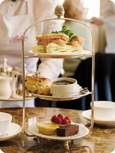 Afternoon Tea - Reminds me of Emily's Bridesmaid's High Tea!  What fun we had! @Emily Schoenfeld Swader