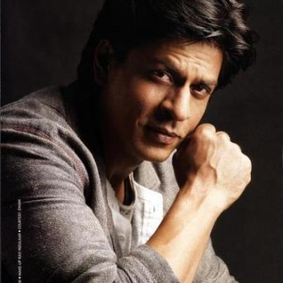 GUESS WHO? Right! Shahrukh Khan again. I just love him.