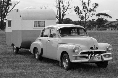 """ DARWIN HERE WE COME "" Aussie FJ Holden"