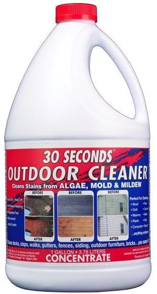 vinyl siding cleaner clean vinyl siding and trex decking with 30 seconds 10581