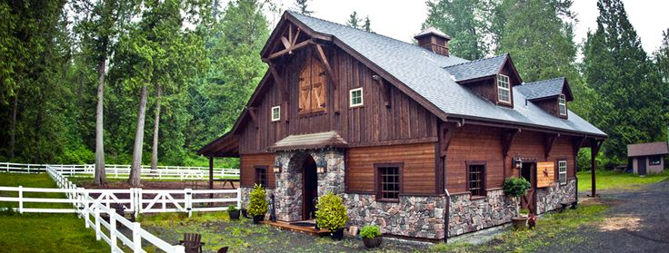 Beautiful barn with living quarters