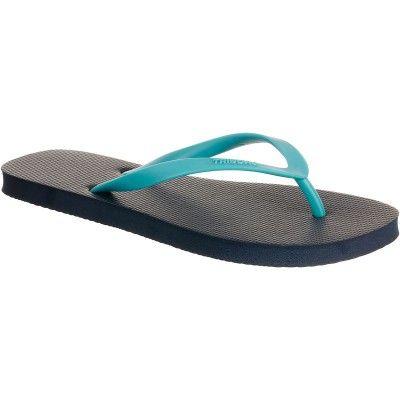 GROUPE 2 Sports d'eau - Tong TO 100S Bleu Turquoise TRIBORD - Maillots de bain, vêtements, chaussures