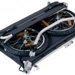 FOLDABLE trailer for bicycle, more options for using cycle not car for transport