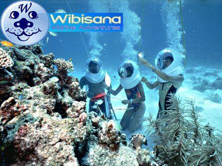 Traveling - Groupon - Paket Personal Wahana Sea Walker ±30 Menit Hanya Rp 338.000 /Kupon Min 1 pax