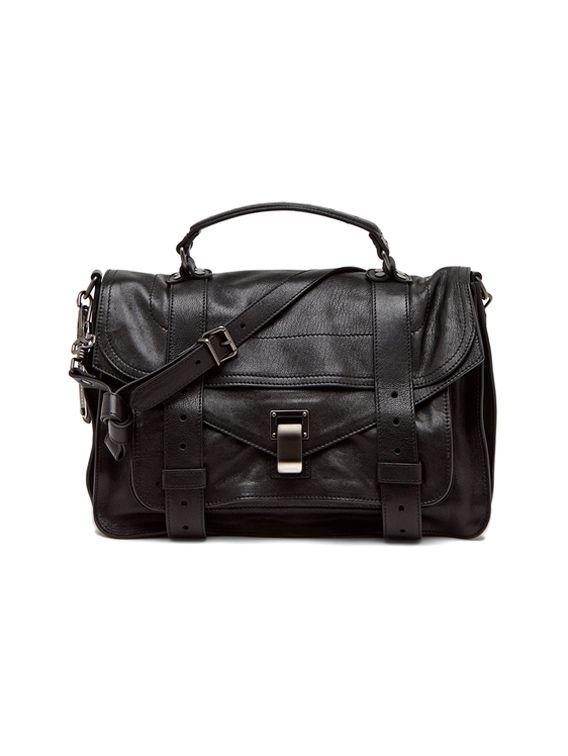 a1f3895e40d5 Proenza Schouler Medium PS1 Leather in Black